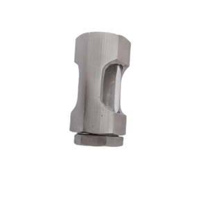 "FNPT Ends Stainless Steel Sight Glass-1/4""/1/2""/3/8"""