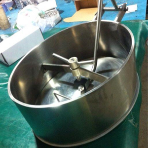 Sanitary Stainless Steel Heightened Oval Manhole Hatch