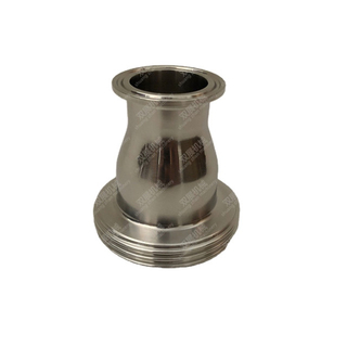Sanitary DIN11851 Male X Tri Clamp Ferrule Reducer SUS304 316L