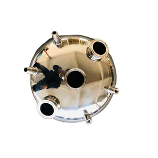 Sanitary Stainless Steel Tri Clamp Hemispherical Lid