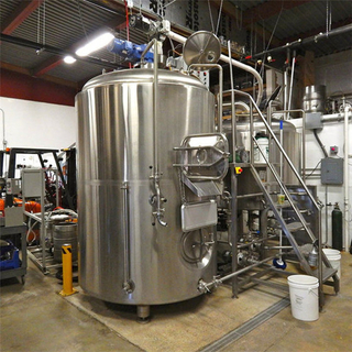 2 Vessels Brewhouse with Combi-tank and Brew Kettle