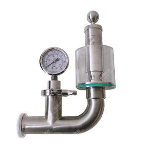 Santiary SS Tri Clamp Beer Fermenter Air Relief Valve