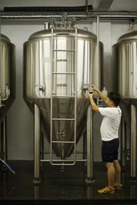 Stainless Steel Jacketed Fermentation System Cool Zone