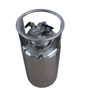 100LB Stainless Solvent Recovery Tank w/ Coil