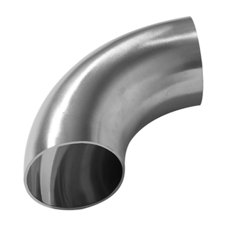 Sanitary Staninless Steel DIN Polished Short 90 Degree Weld Elbows