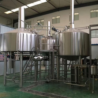 Stainless Steel 3 Vessels Brewhouse Mash Tun Lauter Tun and Kettle Whirpool Tun