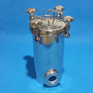 Sanitary Stainless Steel Top Open Pressure Tank
