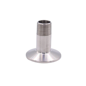 Stainless Steel BSPP Male Thread to Tri Clamp Adapter
