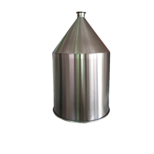 Sanitary Stainless Steel Tri Clover Cylinder Cone Hopper