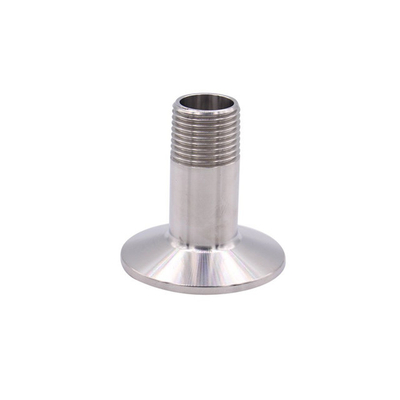 Sanitary Stainless Steel Tri Clamp Male BSPT Adapter