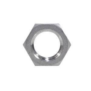 Stainless Steel Hexagon Lock Nut 150LB Threaed Fittings
