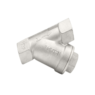 Stainless Steel Y Type Check Valve-SS304/SS316
