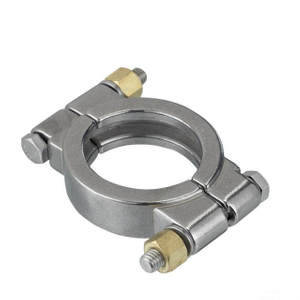 Sanitary High Pressure Clamp with Bolts Stainless Steel SS304