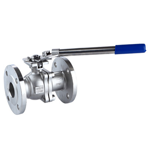 150# CF8M Flanged Ball Valves WOG Automaticlly Reset Handle