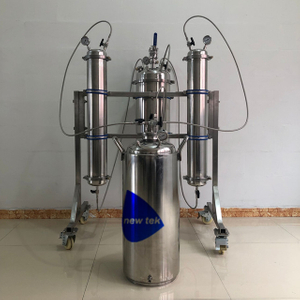 Stainless Steel Closed Loop Active Bidirectional Extractor with Chiller