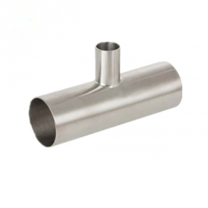 Sanitary Stainless Steel Welded Reducing Tee
