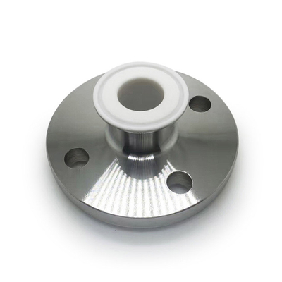 Stainless Steel PFA Lined Reducer Tri-clamp Fitting to Flange