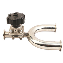 Sanitary Stainless Steel U Type Diaphragm Valve Manually Operated