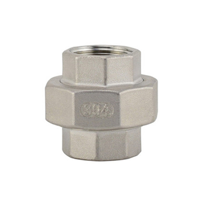 Stainless Steel Flat Face Union 150LB Threaed Fitting