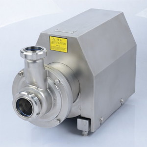 Sanitary Stainless Steel SUS316 Self-Priming CIP Pump 5.5/7.5Kw 25/30T