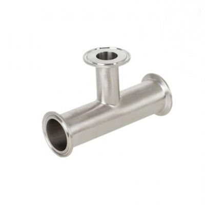 Sanitary Stainless Steel Tri-Clamp Reducing Tee