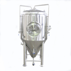 Stainless Steel Jacketed Glycol Fermenter