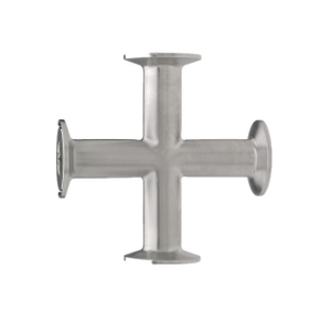 Sanitary Stainless Steel Tri-Clamp Cross