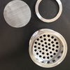 Sanitary Tri-Clamp Plate Filter Screen Mesh and Compression Ring