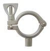 Sanitary Stainless Steel Pipe Standoff Clamp W/ Wing Nut Heavy Duty