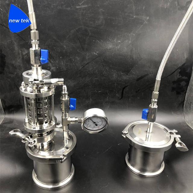 45g Top Filled Closed Loop Extractors Stainless Steel 304