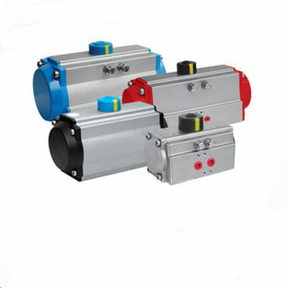 Single Acting Valve Pneumatic Rotary Actuator Spring Return