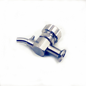 "Sanitary 1/2"" tri clamp sampling faucet valve stainless steel 316 brewery hardware"