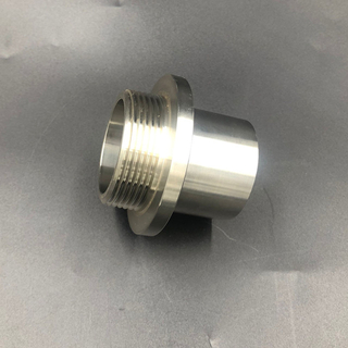 Sanitary Stainless Steel Butt Weld to Male Threaded Adapter