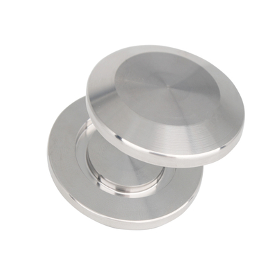 Stainless Blank Flange ISO-KF Vacuum Fittings NW Flange Size