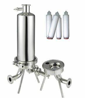 316L Stainless Steel Cartridge Air Micro Filter