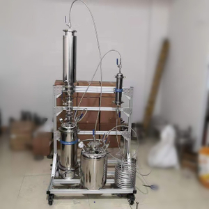 5LB Stainless Steel Rack Mounted Closed Loop Bho Extraction Equipment