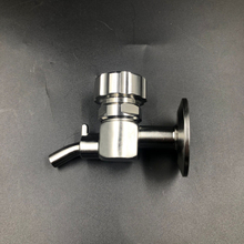 "Sanitary TriClover Compatible Brewing Sample Valve Clamp End SS304 (1.5"")"